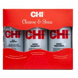 CHI - Chı Cleanse & Shine 3'lü set (Avantajlı 3 lü bakım seti)