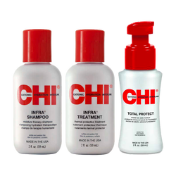 CHI - CHI Infra 3'lü set (Shampoo, Treatment, Total Protect)