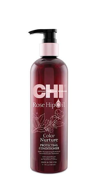 CHI Rosehip Oil Renk Koruyucu Saç Bakım Kremi 340ml